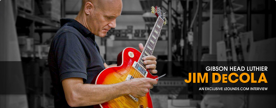 Jim DeCola: Head Gibson Luthier