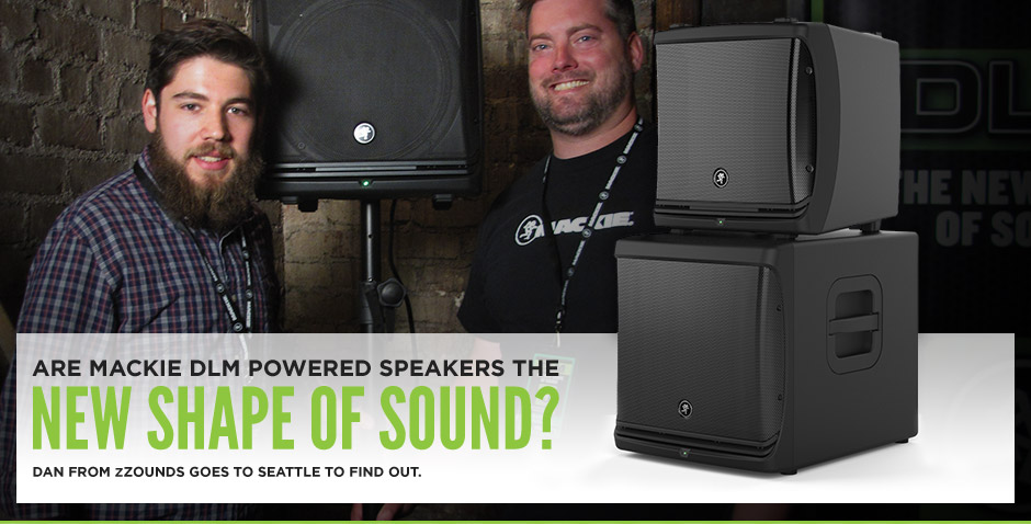 Mackie DLM Powered Speaker Series