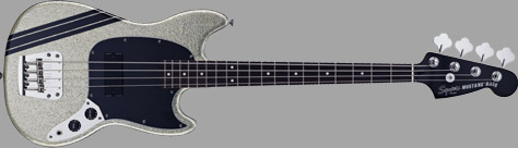 Squier Mikey Way Mustang Electric Bass