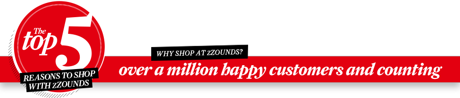Why shop at zZounds?