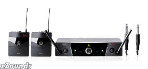AKG WMS40 Pro Dual Instrument UHF Diversity Wireless System