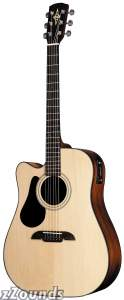 Alvarez RD20SCL Left-Handed Dreadnought Cutaway Acoustic-Electric Guitar