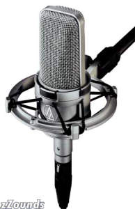Audio Technica AT4047SV Cardioid Capacitor Microphone with Shockmount