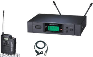 Audio Technica ATW3131A UHF Lavalier Wireless System