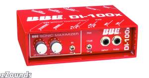 BBE DI100X Active Direct Box with Sonic Maximizer