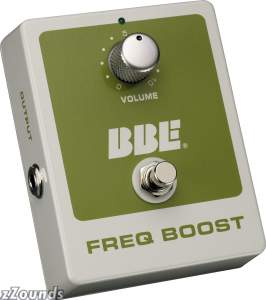 BBE Freq Boost Treble Booster Pedal