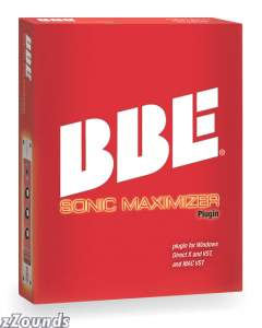 BBE Sonic Maximizer Plug-In Software (Macintosh and Windows)