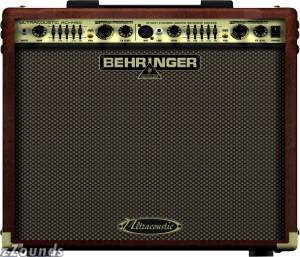 Behringer ACX450 Ultracoustic Acoustic Guitar Amplifier (45 Watts, 1x8 in.)