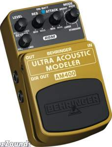 Behringer AM400 Ultra Acoustic Modeler Pedal