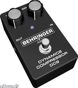 Behringer DC9 Dynamics Compressor Pedal