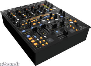 Behringer DDM4000 5-Channel DJ Mixer with Sampler