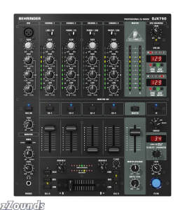 Behringer DJX750 5-Channel DJ Mixer