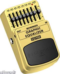 Behringer EQ700 Graphic Equalizer Pedal