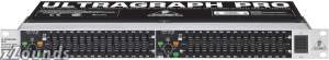 Behringer FBQ1502 Ultragraph Dual 15-Band Equalizer with FBQ