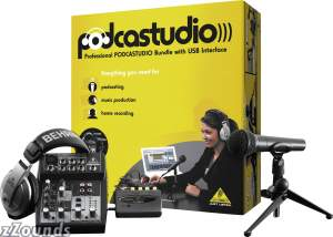 Behringer Podcastudio USB Podcast Package