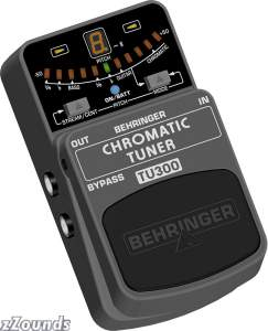 Behringer TU300 Chromatic Pedal Tuner