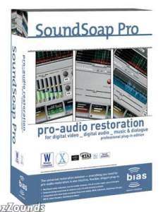 Bias SoundSoap Pro Restoration Plug-In (Macintosh and Windows)
