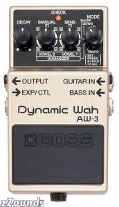 Boss AW-3 Dynamic Wah Guitar and Bass Wah Effects Pedal with Humanizer