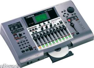 Boss BR-1200CD 12-Track Recorder with CDR and Effects