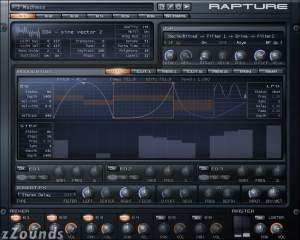 Cakewalk Rapture Virtual Synthesizer (Macintosh and Windows)