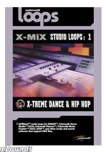 Cakewalk Software XMiX 1 Xtreme Dance and Hip Hop Acid Loops