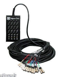 CBI 16 X 4 Audio Snake with Neutrik Connectors