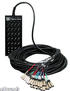 CBI 24 X 4 Audio Snake with Neutrik Connectors