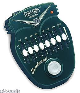 Danelectro DJ14 Fish and Chips 7-Band Graphic Equalizer Pedal