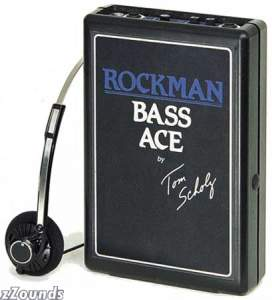 Rockman Bass Ace Headphone Amplifier