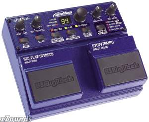 DigiTech JamMan Looper Performance Loop Pedal