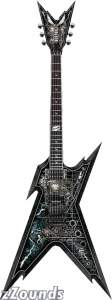 Dean Dimebag Darrell Razorback Electric Guitar (with Case)