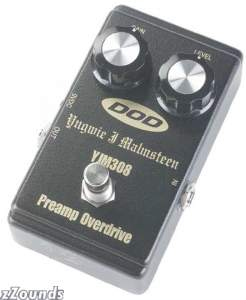 DOD YJM308 Yngwie Malmsteen Signature Overdrive Pedal