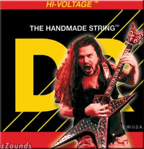 DR Strings DBG10 Hi-Voltage Electric Guitar Strings (Medium, 10-46)
