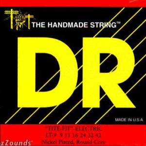 DR Strings LT9 Tite-Fit Electric Guitar Strings