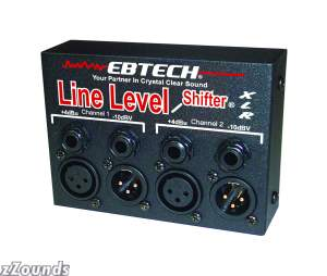 Ebtech LLSXLR Line Level Shifter (2-Channel)