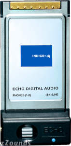 Echo Indigo DJ Dual Stereo 24/96 Laptop Cardbus
