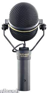 ElectroVoice ND468 NDYM Instrument Microphone