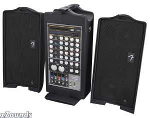 Fender PD250PLUS Passport Deluxe Portable PA with Built-In CD Player