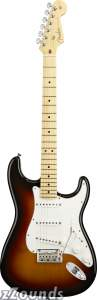 Fender American Standard Stratocaster Electric Guitar (Maple, With Case)