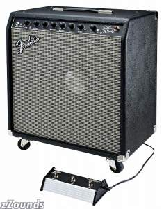 Fender Steel King Guitar Combo Amplifier (200 Watts, 1x15 in.)