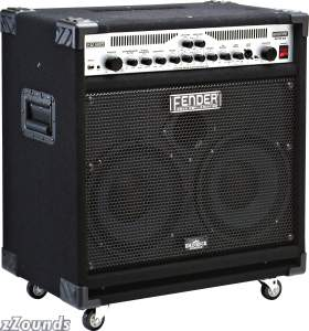 Fender Bassman 250/210 Bass Combo Amplifier (250 Watts, 2x10 in.)