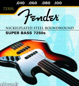 Fender Super Bass 7250s Electric Bass Strings