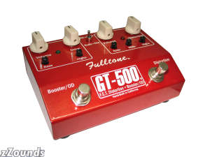 Fulltone GT500 Distortion and Booster Pedal