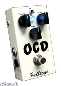 Fulltone OCD Obsessive Compulsive Drive Overdrive Pedal