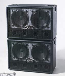 Genz Benz GB212GFLEX George Lynch Ported Guitar Speaker Cabinet (150 Watts, 2x12 in.)