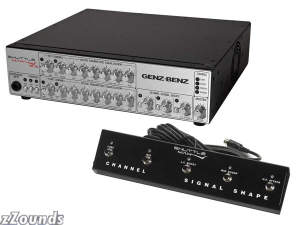 Genz Benz STLMAX120 Shuttle Max Bass Amplifier Head (1200 Watts)