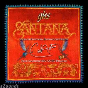 GHS Carlos Santana Electric Guitar Strings