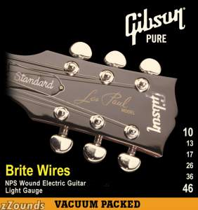 Gibson Brite Wires Electric Guitar Strings