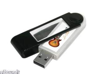Gibson Les Paul Watermark Flash Drive