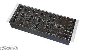 Gemini MM4000 4-Channel Mixer with Effects
